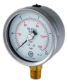 Pressure gauge Schuh SC Series bar/psi
